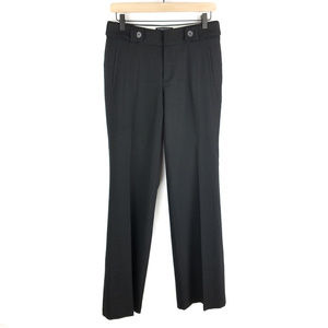 Banana Republic Jackson Fit Black Pants Sz 4 L